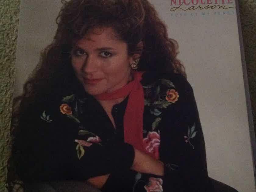 Nicolette Larson - Rose Of My Heart MCA Records Vinyl LP NM
