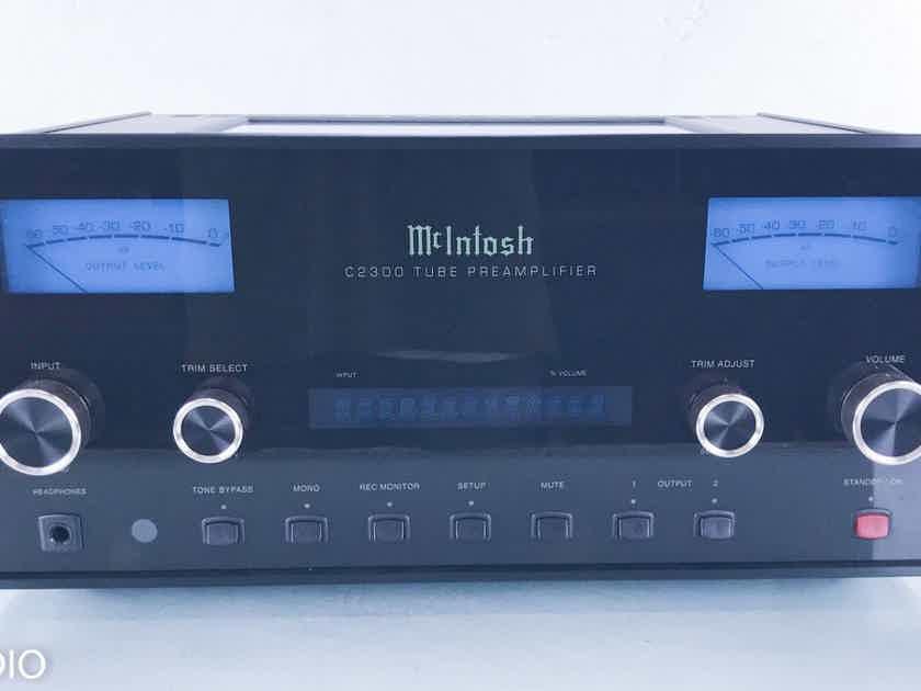 McIntosh C2300 Stereo Tube Preamplifier C-2300; Remote (15471)