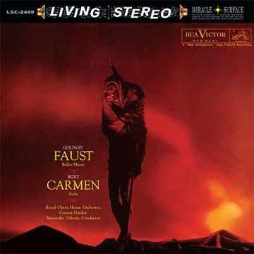 Gounod: Faust - Ballet Music / Bizet: Carmen - Suite Analog Productions (RCA Living Stereo)