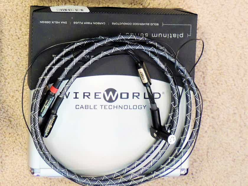 Wireworld Gold Eclipse 7 Tonearm 1.5 M RCAs, FREE SHIP + Others