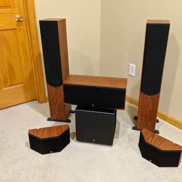 Aperion Audio 5.1 Home Theater Set