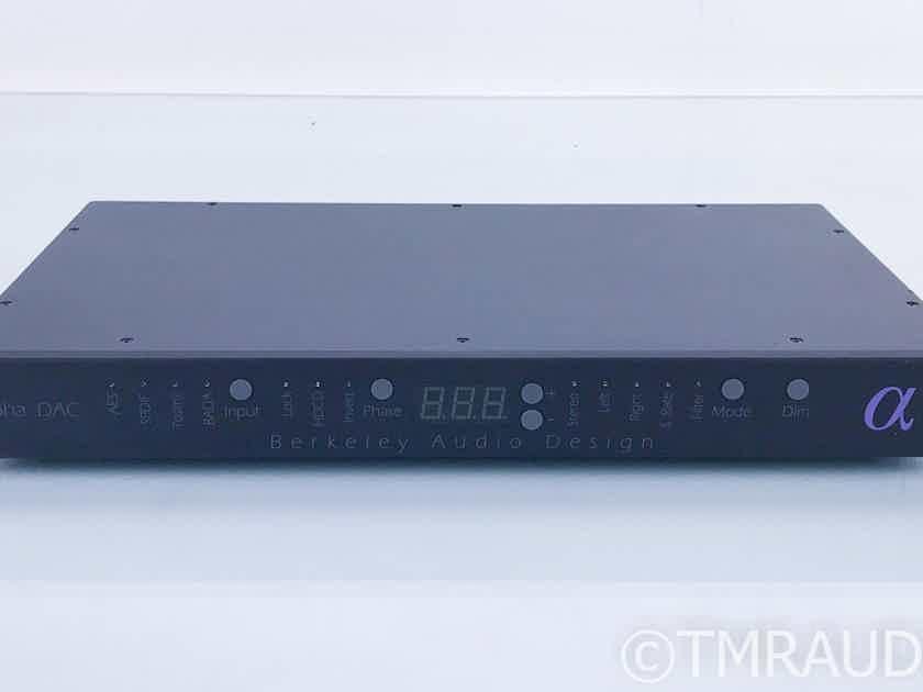 Berkeley Audio Design Alpha DAC Series 1 D/A Converter (16737)