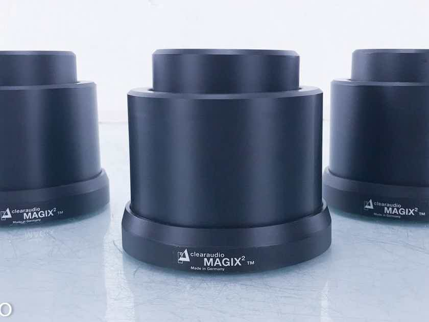 Clearaudio Magix 2 Magnetic Levitation Isolation Feet Set of 3 (15081)