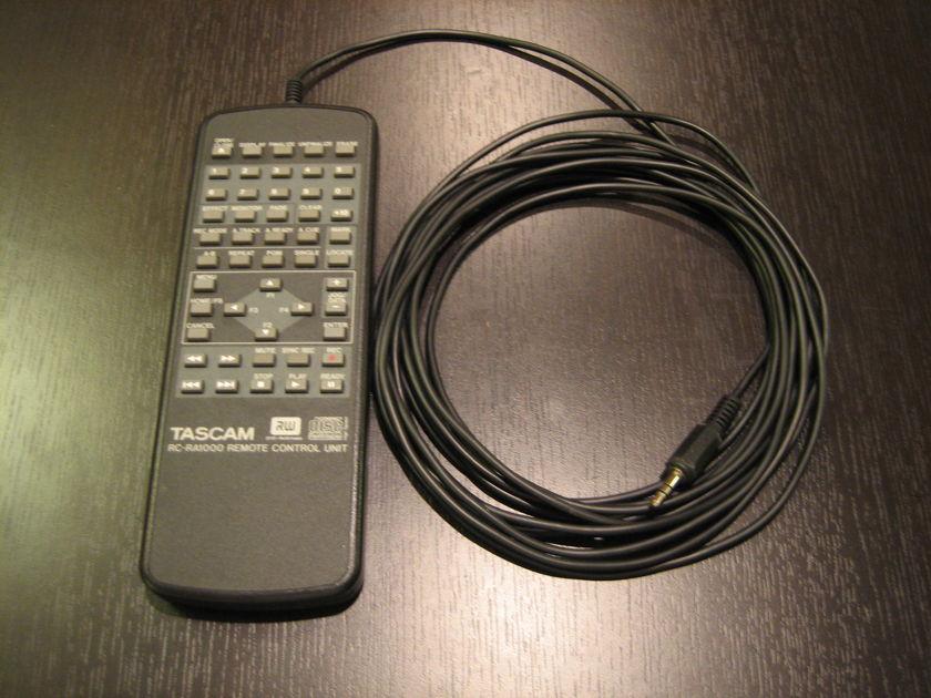 Tascam DV-RA1000 High Definition Audio Master Recorder