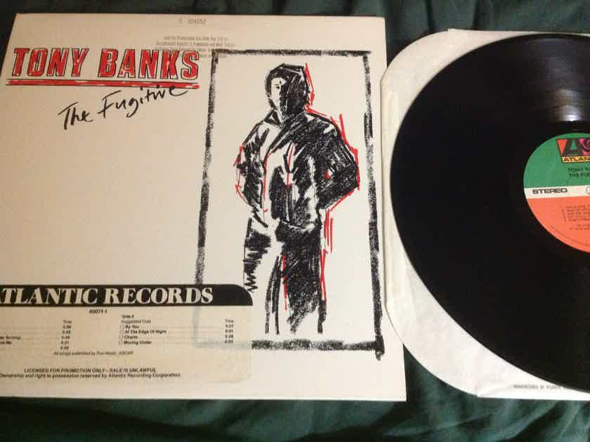 Tony Banks(Genesis) - The Fugitive Atlantic Records Promo Vinyl LP NM