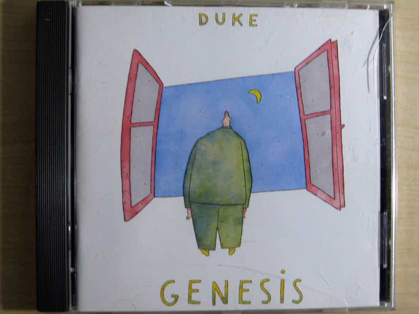 Genesis - Duke - 1995 Canada Definitive Edition Remaster Atlantic CD 82692