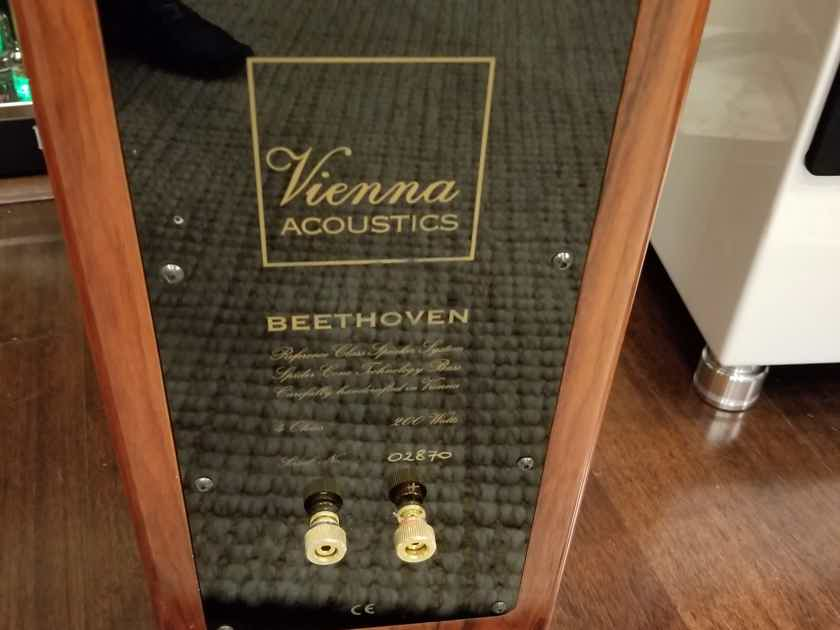 Vienna Acoustics Beethoven  Refrence Rose Finish McIntosh Audio Research BW Sony Quad