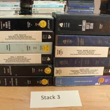 Stack 3- All tapes in this stack are 7 1/2 IPS