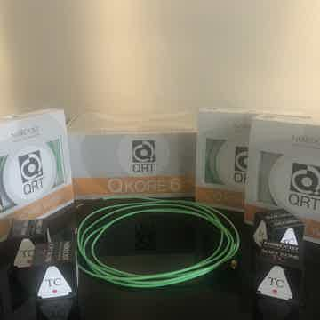 Nordost Q Kore 6 plus with RCA/XLR/banana extra wires, ...