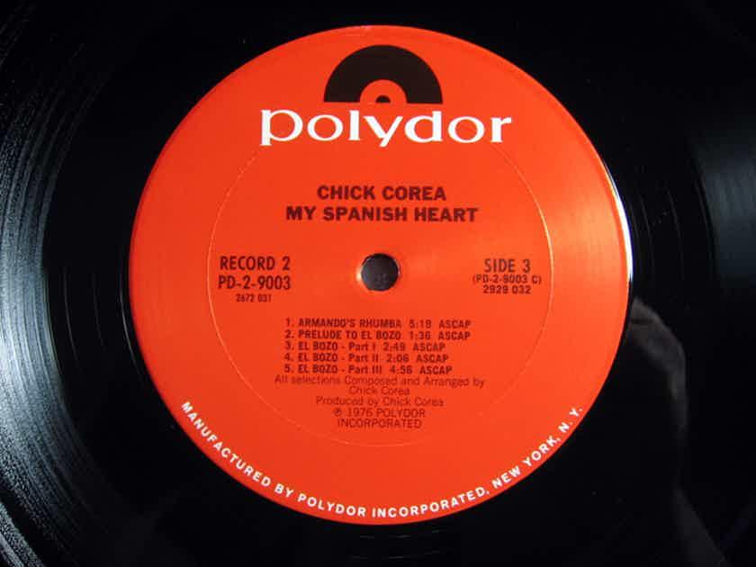 Chick Corea - My Spanish Heart - RL MASTERDISK 1976 Polydor PD-2-9003 Double Album