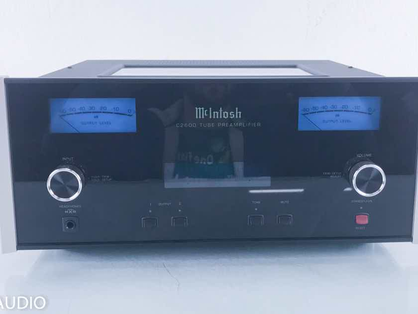 McIntosh C2600 Stereo Tube Preamplifier; Immaculate C-2600 (11512)