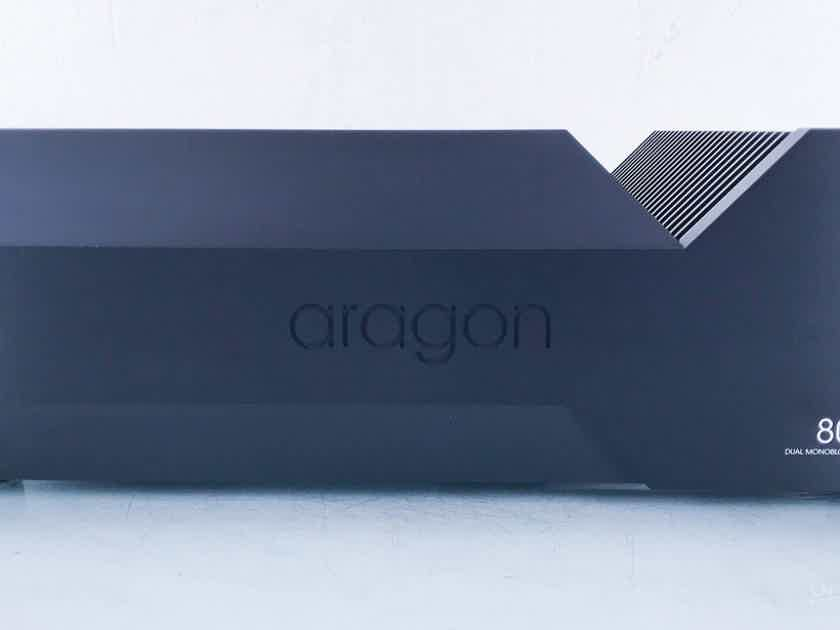 Aragon 8008 Dual Mono Power Amplifier; Black (15033)