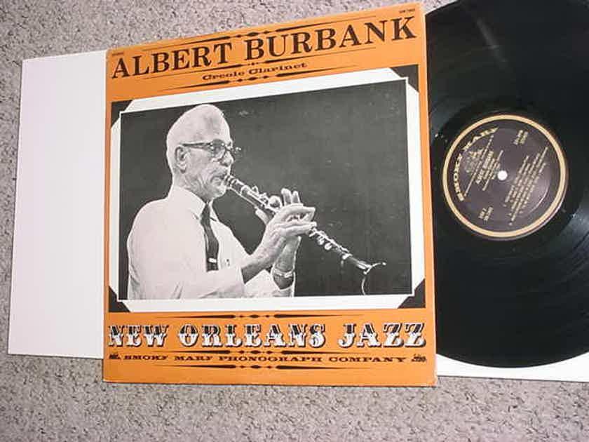Albert Burbank creole clarinet lp record New Orleans jazz