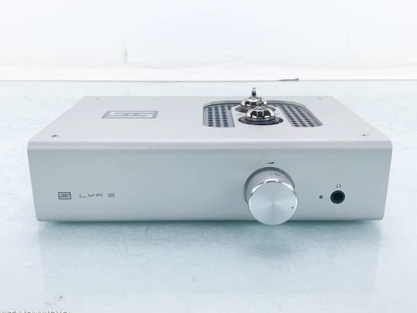 Schiit Lyr 2 Tube Headphone Amplifier / Preamplifier LISST Solid State Tubes (16301)