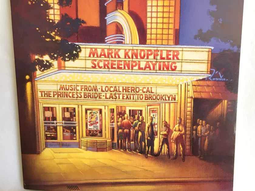 """FOR SALE: RARE 2 LP UK/EURO ONLY 1993 Release of Mark Knopfler's """"Screenplaying"""" NM Vinyl... $75"""