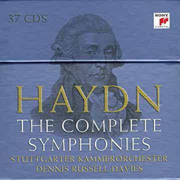 Haydn: Complete Symphonies Davies - SONY -  37 CD