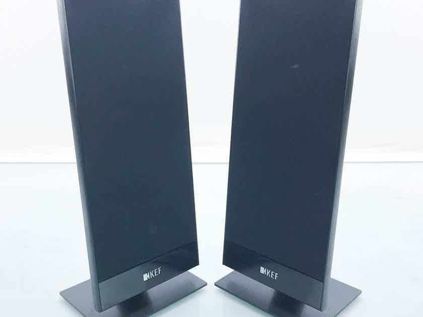 KEF T101 Satellite Speakers Black Pair; T-101 (16245)