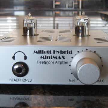Hybrid MiniMAX tube headphone amp