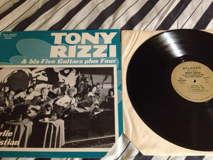 Tony Rizzi - Plays Charlie Christian LP NM