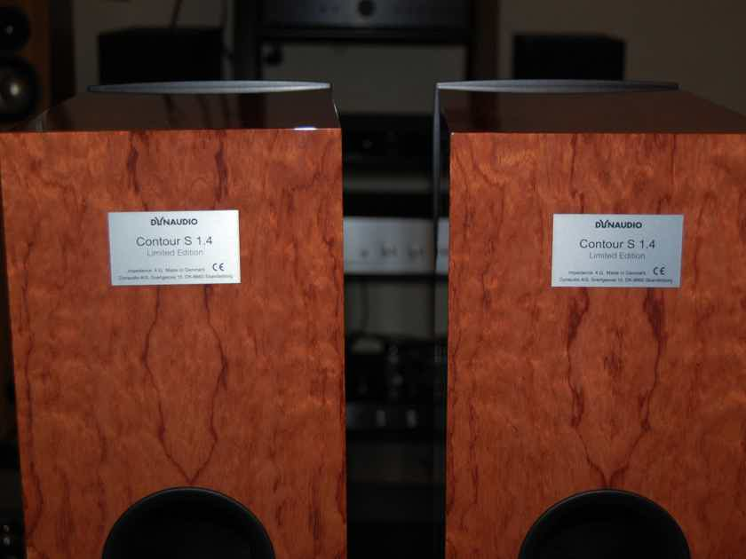 Dynaudio Contour S1.4 Limited Edition Dealer Demo Loudspeakers