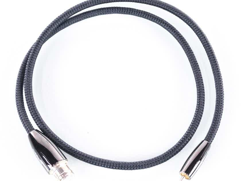 Audioquest Yukon XLR to RCA cable; Single 1m Interconnect (20855)