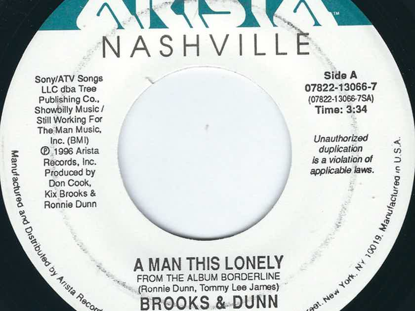 Brooks & Dunn A Man This Lonely