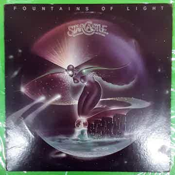 Starcastle - Fountains Of Light 1977 EX+ PROG ROCK Epic...
