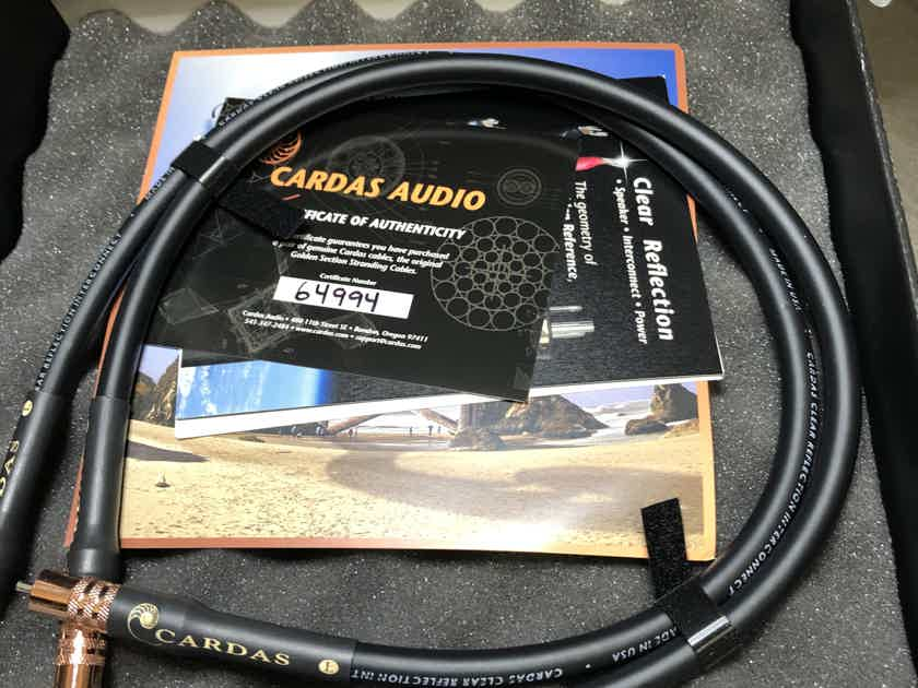 CARDAS AUDIO CLEAR REFLECTION INTERCONNECT CABLE - 0.75m RCA