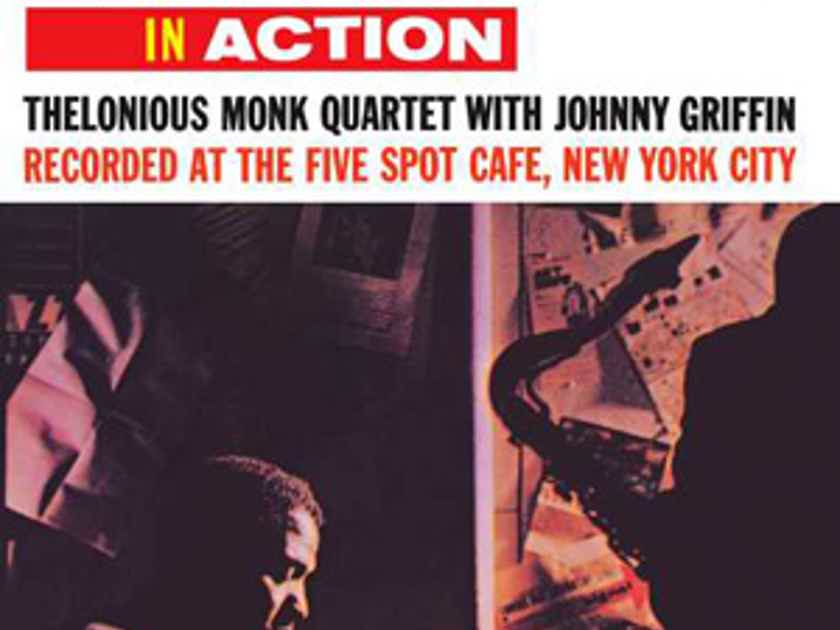 Thelonious Monk Quartet with Johnny Griffin - Thelonious in Action  Limited Edition Analog Production 45 rpm 2LPs Top 25 Jazz LP Edition