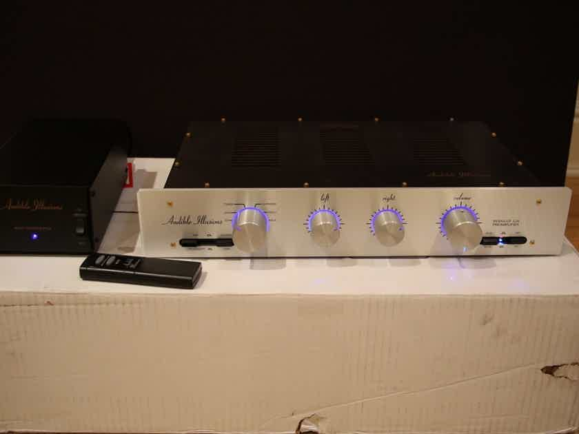 Audible Illusions L3A Linestage w/remote Mint customer trade-in