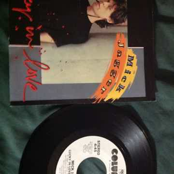 Mick Jagger - Lucky In Love Columbia Records Promo 45 S...