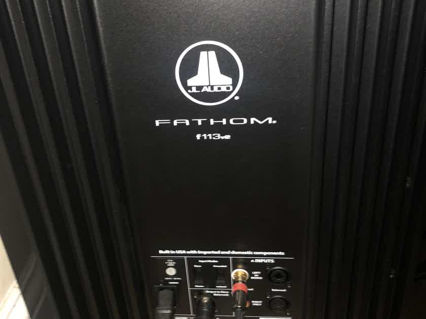 JL Audio F113 VERSION 2 - Mint and 2 available