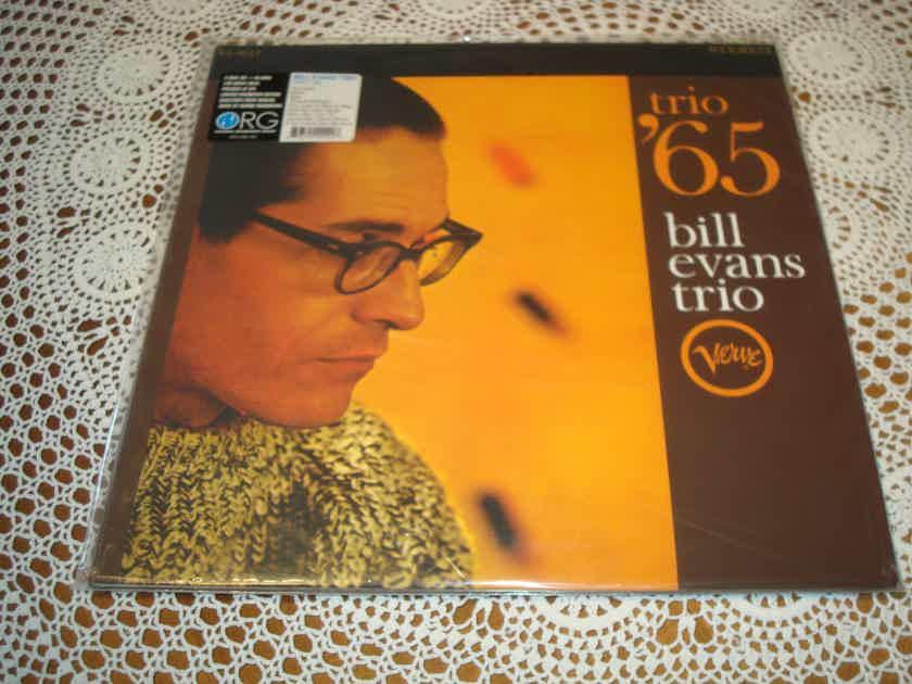 BILL EVANS TRIO Trio ´ 65 Audiophile VERVE ORG 2x 180g LP Out of Print