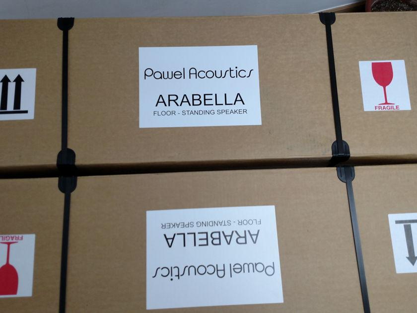 Pawel Acouctics Arabella MK2 Swiss made 2 ways Floorstanding Speaker