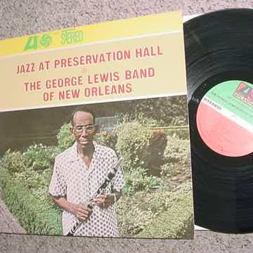 The George Lewis band of New Orleans lp record jazz at preservation hall 1966