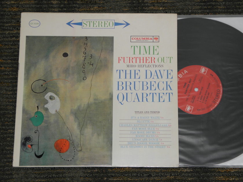 Dave Brubeck Quartet - Time Further Out    Columbia CS 8490 Black print 2 EYE  STEREO