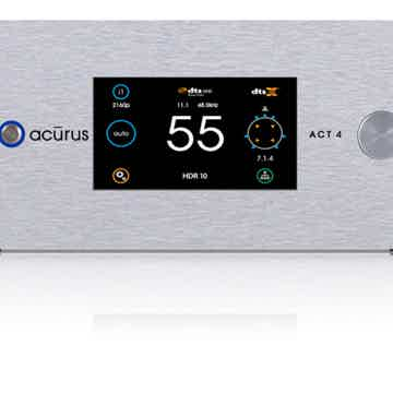 ACT4  20 channel immersive HD audio pre-amp processor