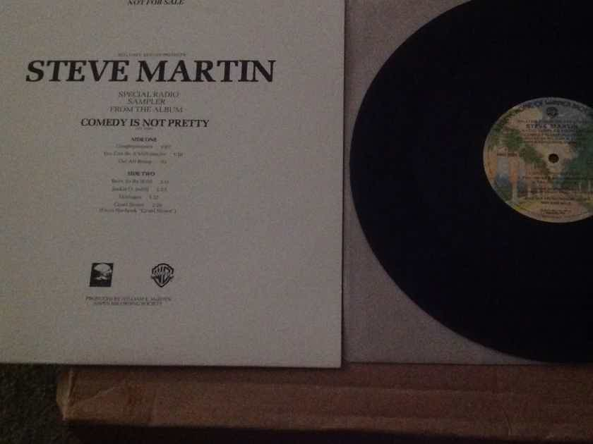 Steve Martin - Special Radio Sampler From The Album Comedy Is Not Pretty Warner Brothers Records Vinyl LP  NM