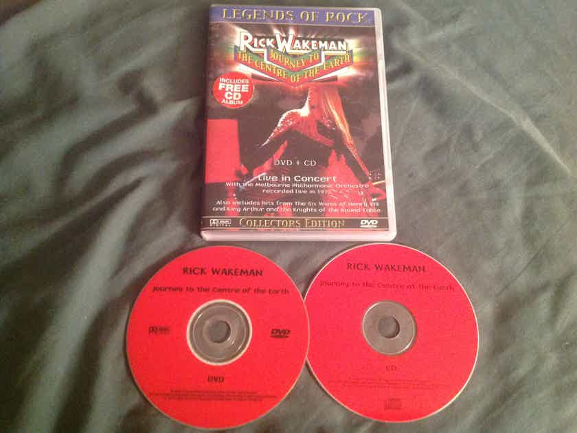 Rick Wakeman  Journey To The Centre Of The Earth Live 1975 Compact Disc + DVD