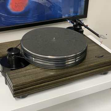 Pear Audio Kid Thomas Turntable in Wood with Cornet 2 a...