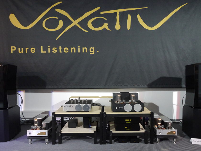 Voxativ PA-01 Tube Pre Amplifier - NEW - with excellent MC phono stage