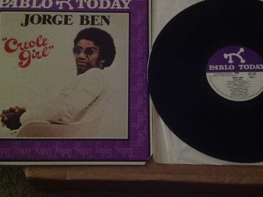 Jorge Ben - Creole Girl Pablo Today Records Label  Vinyl LP  NM