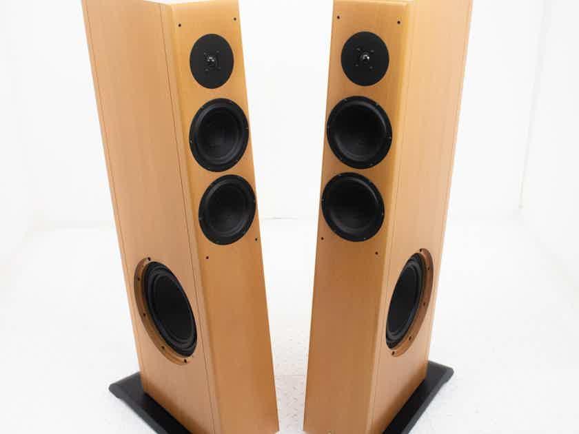 Vienna Acoustics Strauss Floorstanding Speakers; Beech Pair (18716)