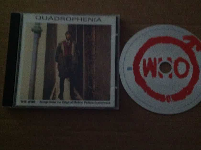 The Who - Quadropheneia Polydor Records Label  Soundtrack Compact Disc