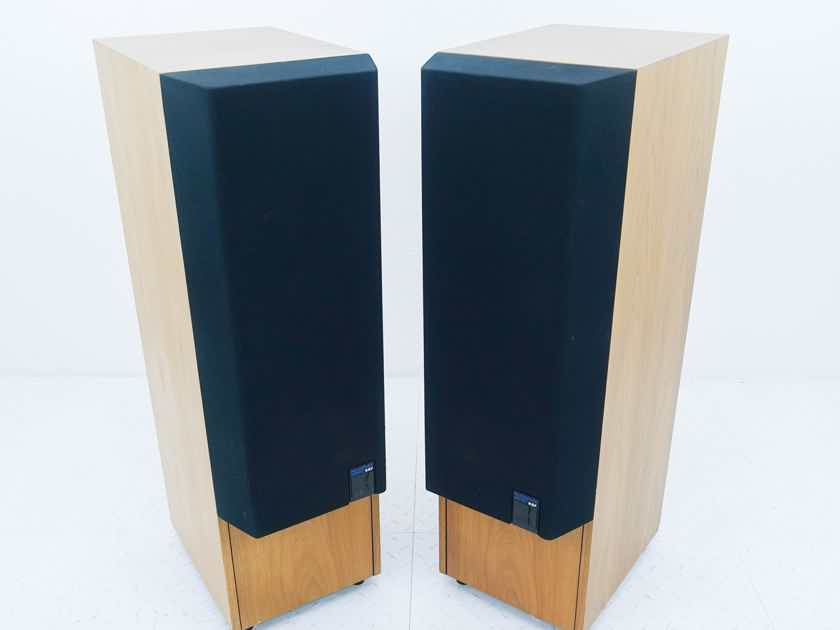 KEF 104/2 Reference Series Cabinets 104.2; Vintage Pair (No Drivers or Crossover) (14437)