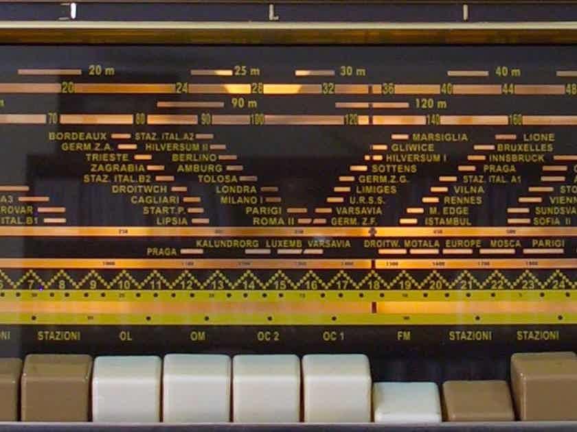 Philips B7X63A FM Tube Radio Bi-Amply OTL 800 Ohm Fully Restored