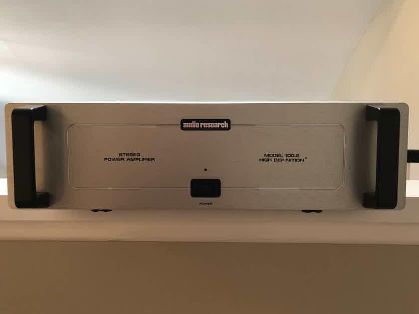 Audio Research 100.2 Beautiful Power Amp