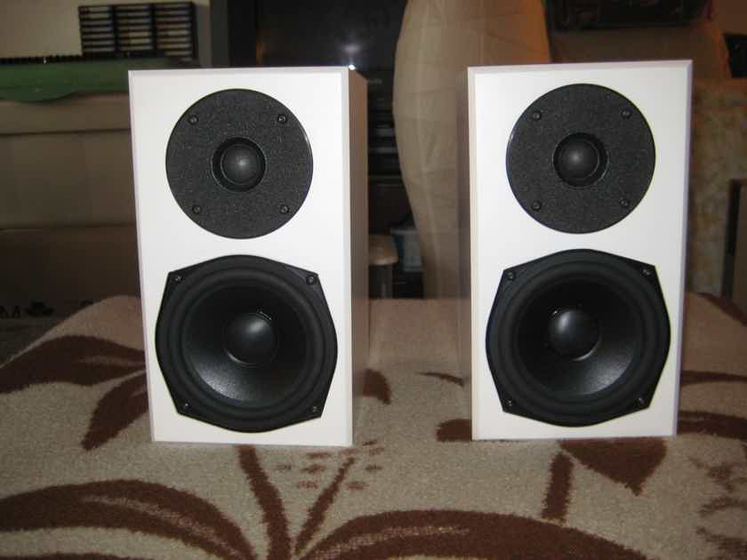 Totem Acoustic Mites in white like new in the box