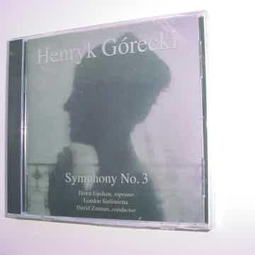 SEALED NEW CD Henryk Gorecki symphony no3 Dawn Upshaw David Zinman
