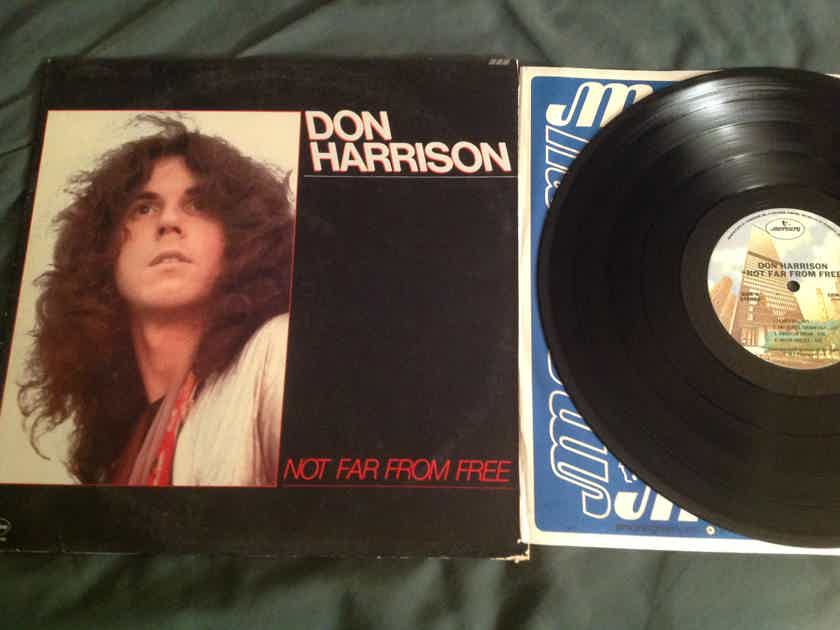 Don Harrison  Not Far From Free